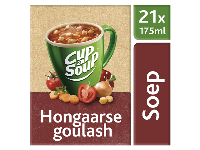 Photo: CUP A SOUP HONGAARSE GOULASH