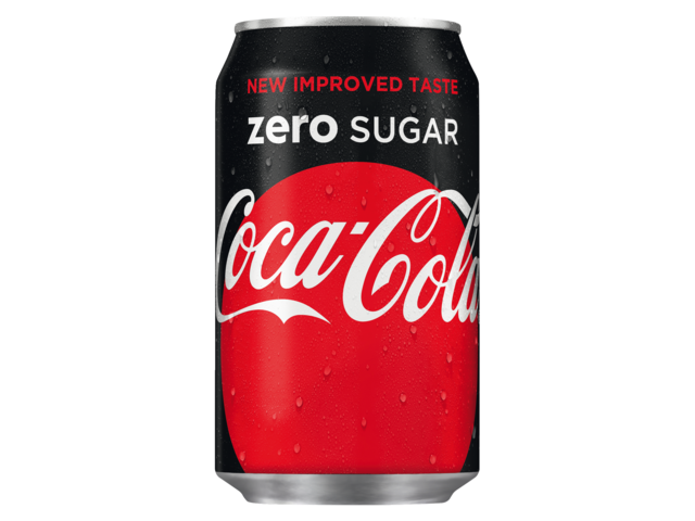 Photo: FRISDRANK COCA COLA ZERO BLIKJE 0.33L