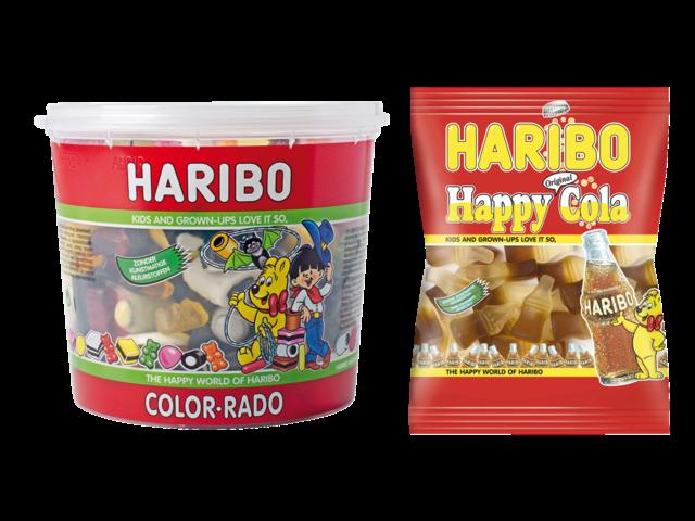 COLORADO HARIBO 650GR WINE GUM + ENGELSE DROP 3