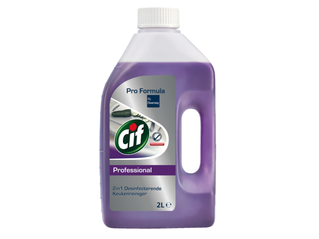 Photo: KEUKENREINIGER CIF PROF 2IN1 DESINFECTEREND 2L