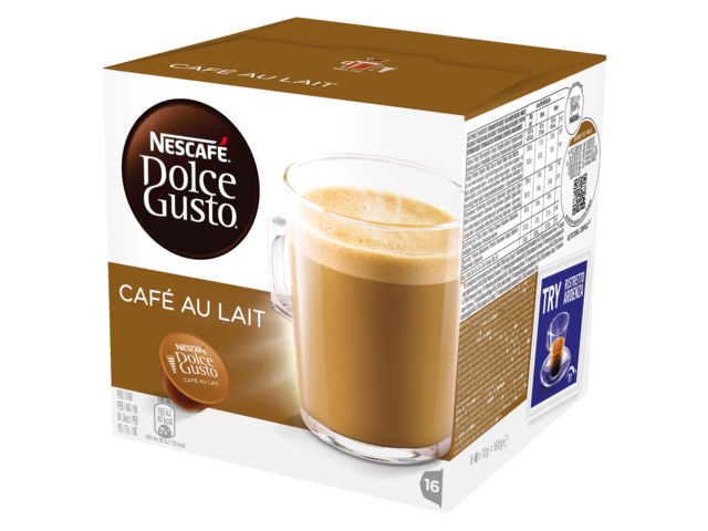 Photo: DOLCE GUSTO CAFE AU LAIT 16 CUPS