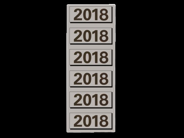 Photo: RUGETIKET ELBA 2018 JAARETIKET GRIJS