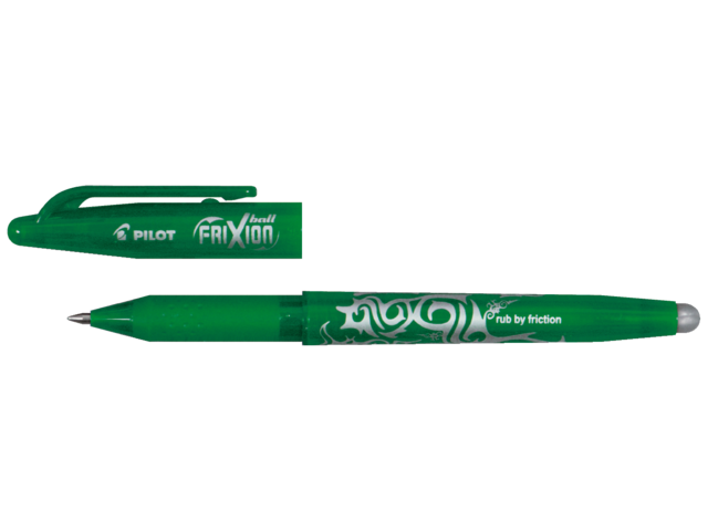 Photo: ROLLERPEN PILOT FRIXION BL-FR7 0.35MM GROEN