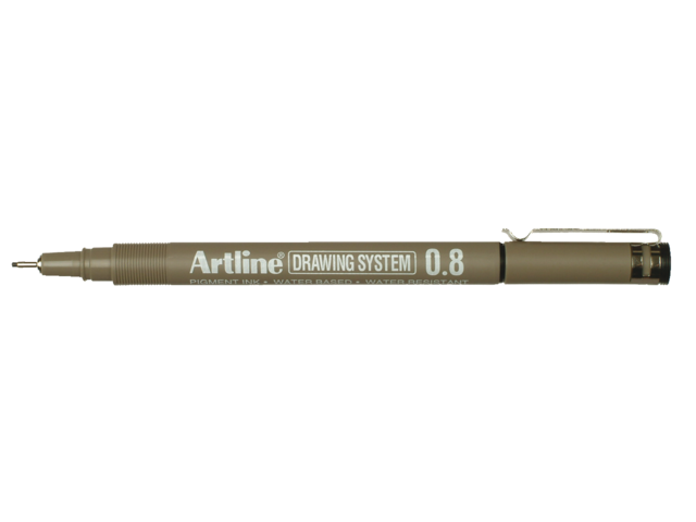 Photo: FINELINER ARTLINE 0.8MM ZWART