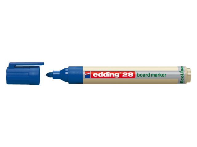 Photo: VILTSTIFT EDDING 28 WHITEBOARD ECO ROND 1.5-3MM BL