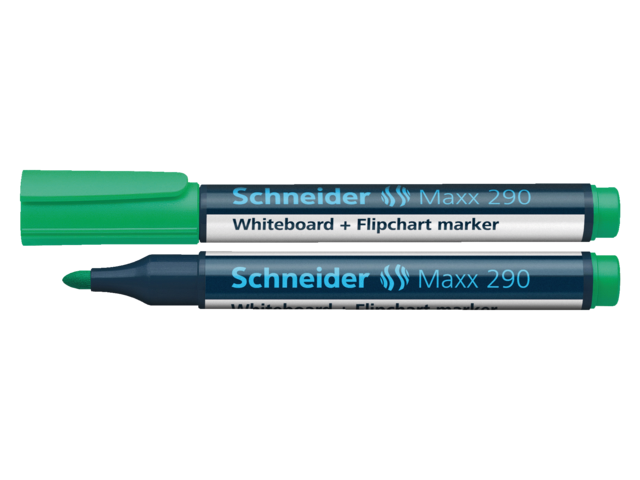 Photo: VILTSTIFT SCHNEIDER 290 WHITEBOARD ROND 2-3MM GROEN