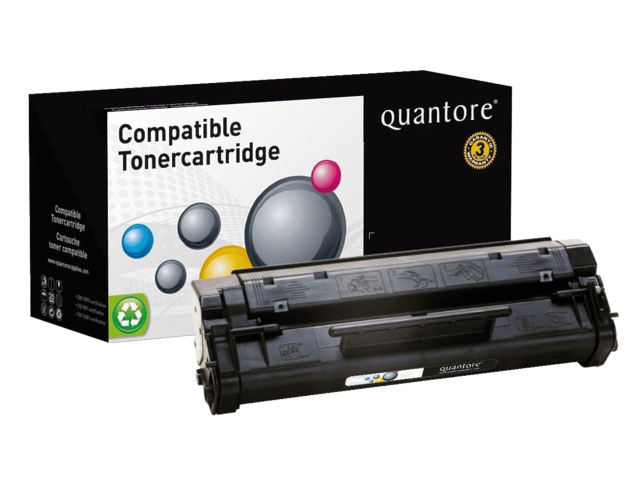 Photo: TONERCARTRIDGE QUANTORE HP C4092A 2.5K ZWART