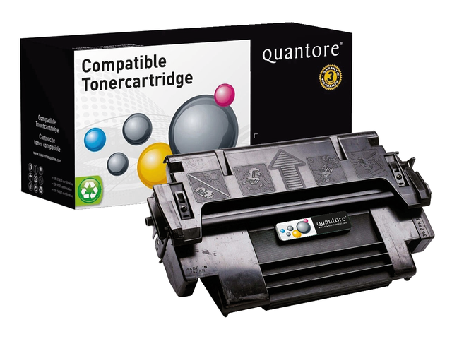 Photo: TONERCARTRIDGE QUANTORE HP 92298A 6.8K ZWART