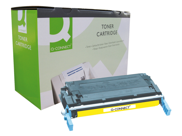 Photo: TONERCARTRIDGE Q-CONNECT HP C9722A 8K GEEL