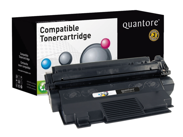 Photo: TONERCARTRIDGE QUANTORE HP C7115XX 10K ZWART