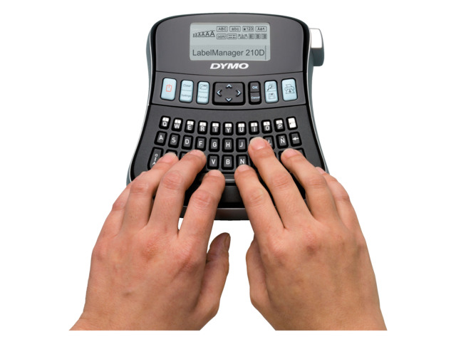 Photo: LABELMANAGER DYMO LM210D QWERTY