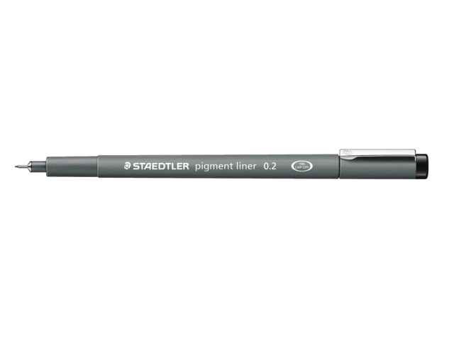 Photo: FINELINER STAEDTLER PIGMENT 308 0.1MM ZWART