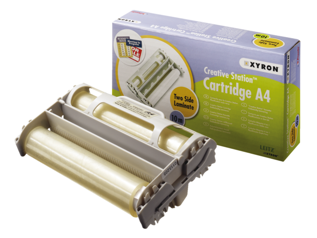 Photo: LAMINEERCASSETTE XYRON A4 2X80MIC 10MTR