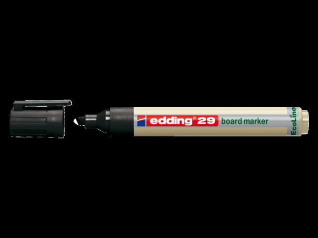 Photo: VILTSTIFT EDDING 29 WHITEBOARD ECO SCHUIN 1-5MM ZW