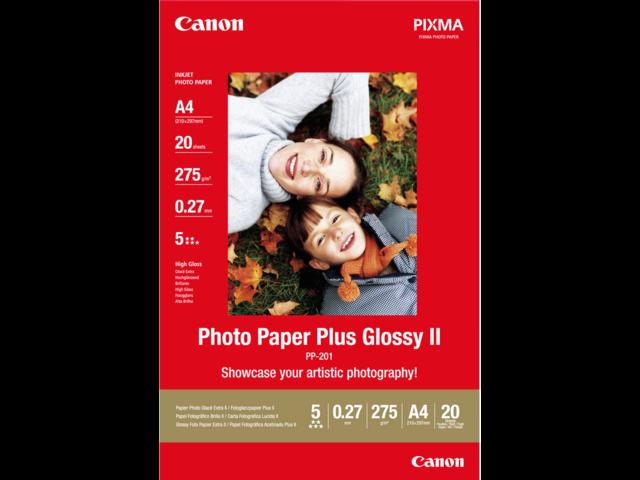 Photo: FOTOPAPIER CANON PP-201 A4 275GR GLANS