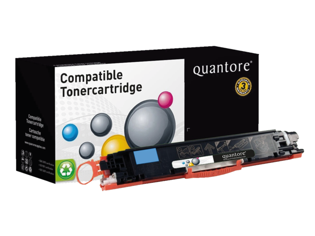 Photo: TONERCARTRIDGE QUANTORE HP CE311A 1K BLAUW