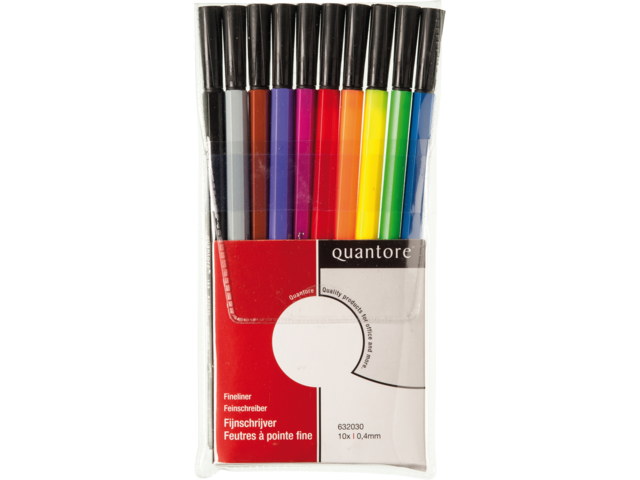 Photo: FINELINER QUANTORE 188 ROND 0.4MM ASS
