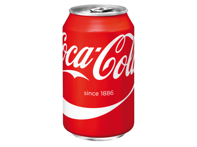 Photo: FRISDRANK COCA COLA REGULAR BLIKJE 0.33L