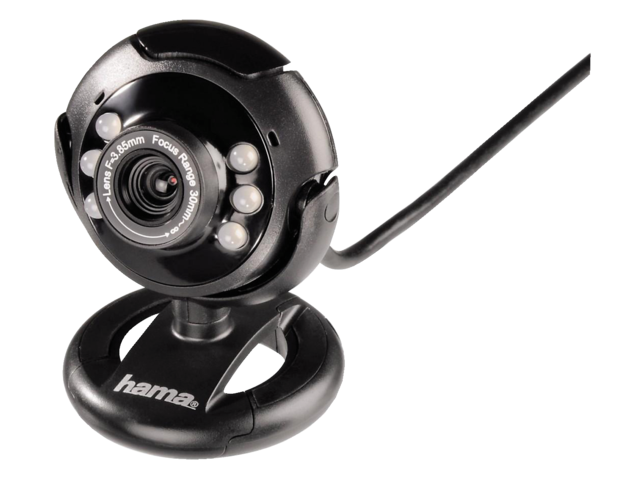 Photo: WEBCAM HAMA AC-150 ZWART