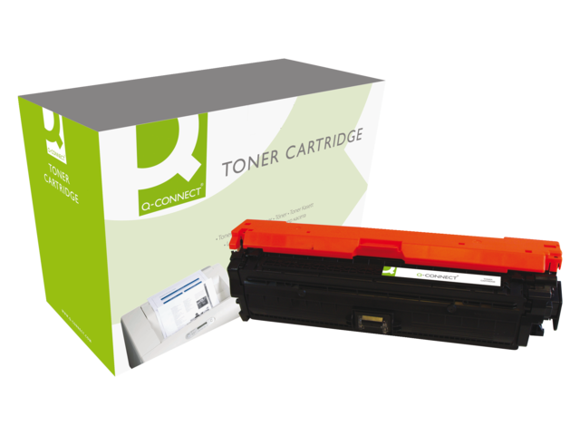 Photo: TONERCARTRIDGE Q-CONNECT HP CE270A 13.5K ZWART