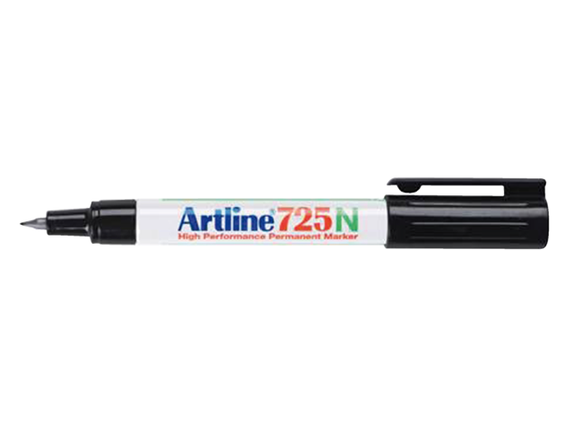 Photo: FINELINER ARTLINE 725 ROND 0.4MM ZWART