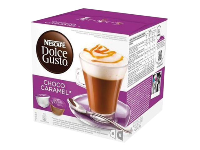 Photo: DOLCE GUSTO CHOCO CARAMEL 16 CUPS / 8 DRANKEN