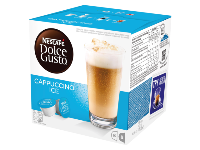 Photo: DOLCE GUSTO CAPPUCCINO ICE 16 CUPS / 8 DRANKEN