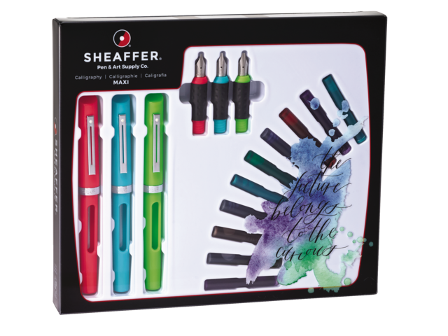 Photo: KALLIGRAFIESET SHEAFFER VIEWPOINT MAXI KIT