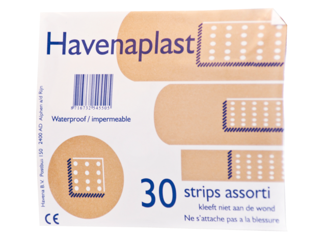 Photo: PLEISTER PHARMAPLAST STRIPS 30STUKS ASSORTI