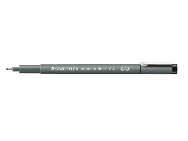 Photo: FINELINER STAEDTLER PIGMENT 308 0.3MM ZWART