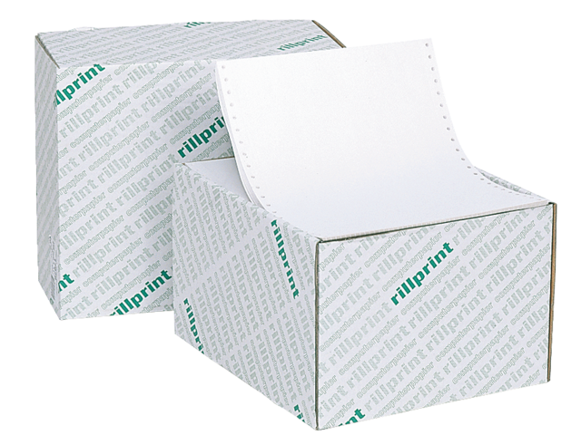 Photo: COMPUTERPAPIER 240X12 BLANCO LP 60GR 2000V