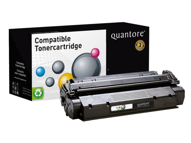 Photo: TONERCARTRIDGE QUANTORE HP C7115X 3.5K ZWART