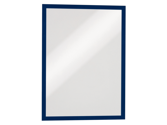 Photo: DURAFRAME DURABLE A3 ZELFKLEVEND DONKERBLAUW