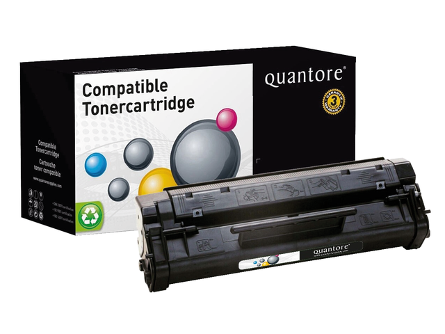 Photo: TONERCARTRIDGE QUANTORE HP C3906A 2.5K ZWART