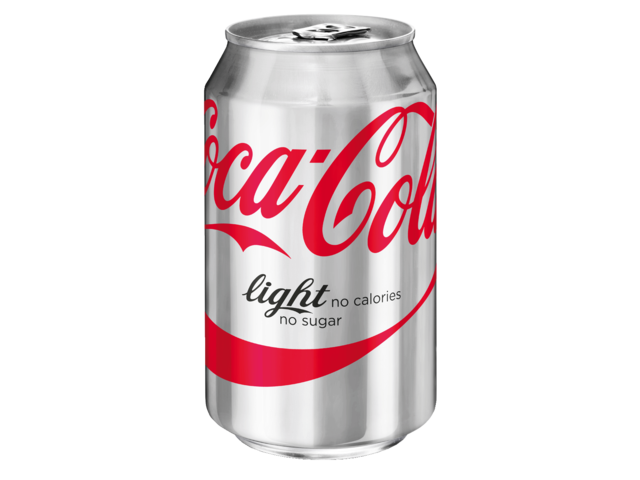 Photo: FRISDRANK COCA COLA LIGHT BLIKJE 0.33L