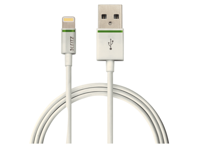 Photo: KABEL LEITZ COMPLETE LIGHTNING-USB 30CM WIT
