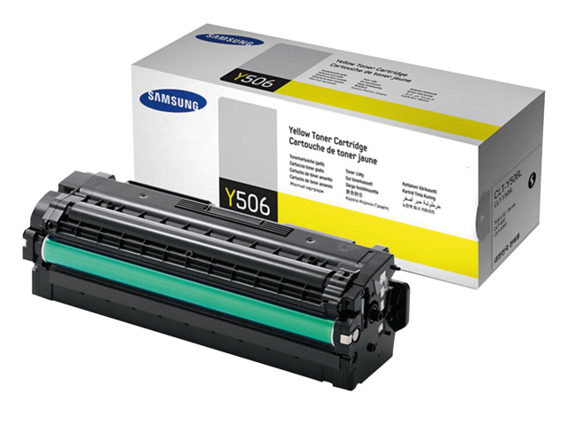 Photo: TONERCARTRIDGE SAMSUNG CLT-Y506L 3.5K HC GEEL