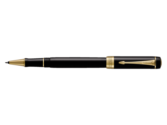 Photo: ROLLERPEN PARKER DUOFOLD BLACK&GOLD F