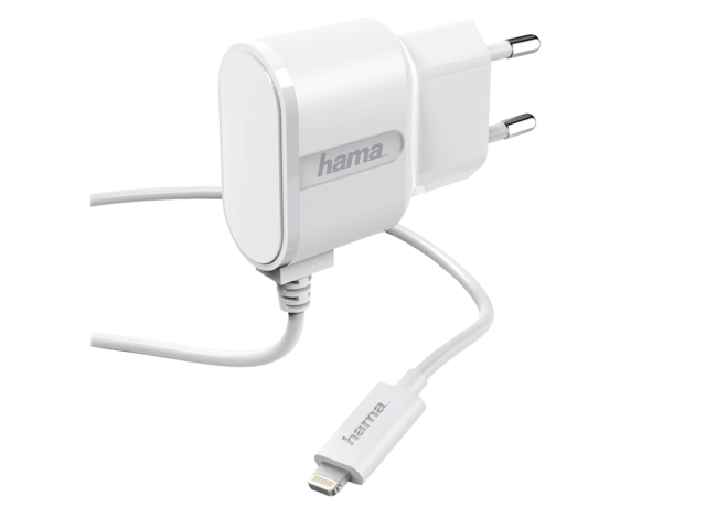 Photo: OPLADER HAMA IPHONE/IPOD LIGHTNING 1A WIT