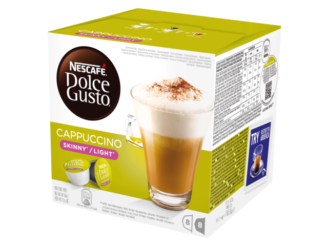 Photo: DOLCE GUSTO CAPPUCCINO LIGHT 16 CUPS / 8 DRANKEN