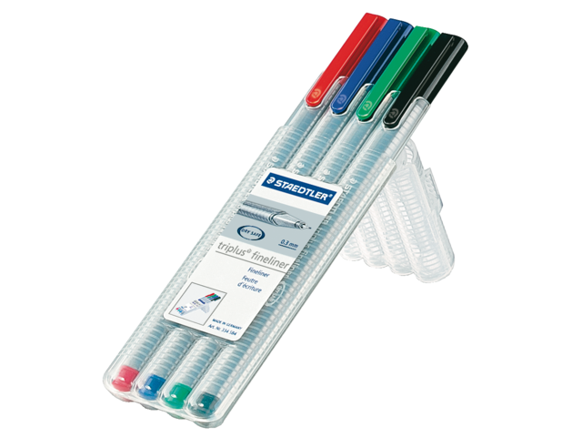 Photo: FINELINER STAEDTLER TRIPLUS 334 0.3MM ASS