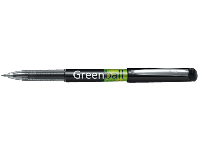Photo: ROLLERPEN PILOT GREENBALL BEGREEN 0.35MM ZWART