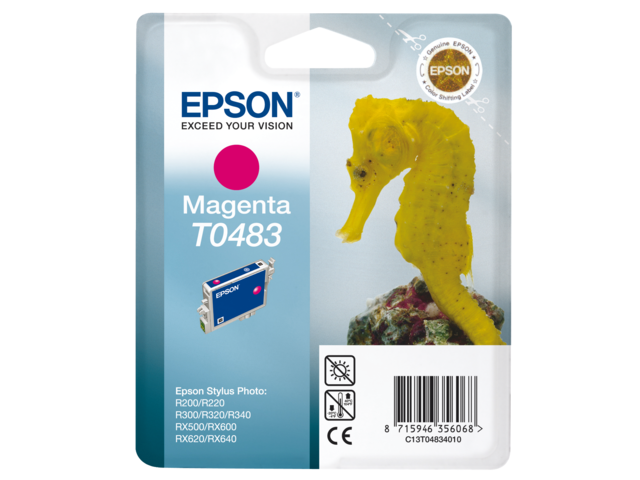 Photo: INKCARTRIDGE EPSON T048340 ROOD