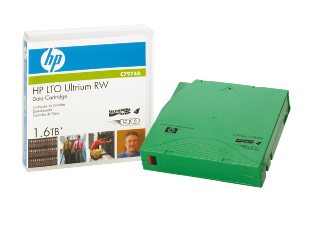 Photo: DATATAPE HP LTO ULTRIUM 4 C7974A RW 1.6TB