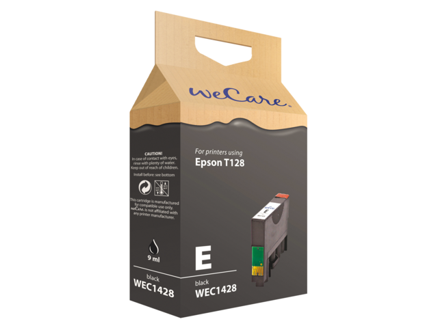 Photo: INKCARTRIDGE WECARE EPS T128140 ZWART