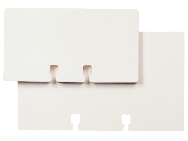 Photo: KAARTEN ROLODEX 57X102MM BP-WHT