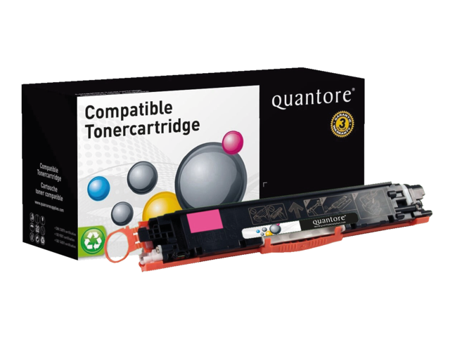 Photo: TONERCARTRIDGE QUANTORE HP CE313A 1K ROOD
