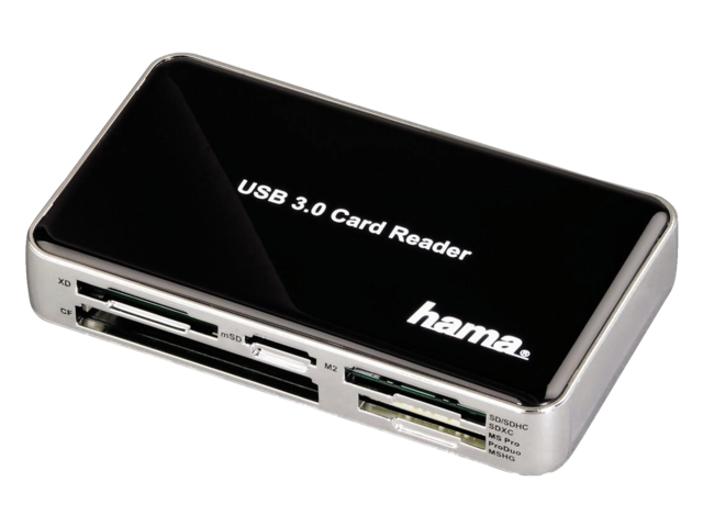 Photo: CARDREADER HAMA USB 3.0 ALL-IN-ONE ZWART