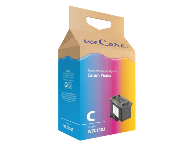 Photo: INKCARTRIDGE WECARE CAN CL-513 KLEUR