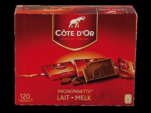 Photo: CHOCOLADE COTE D'OR 10GR MIGNONNETTE MELK MONO